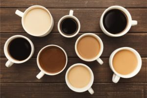 Different coffees